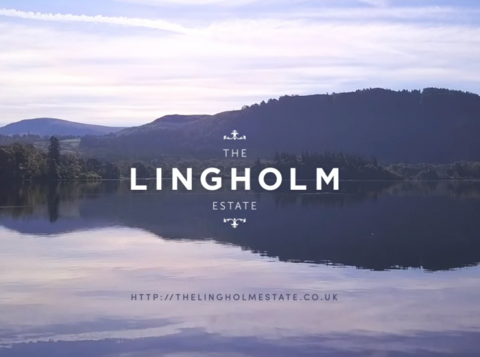 Lingholm estate video editing project screenshot