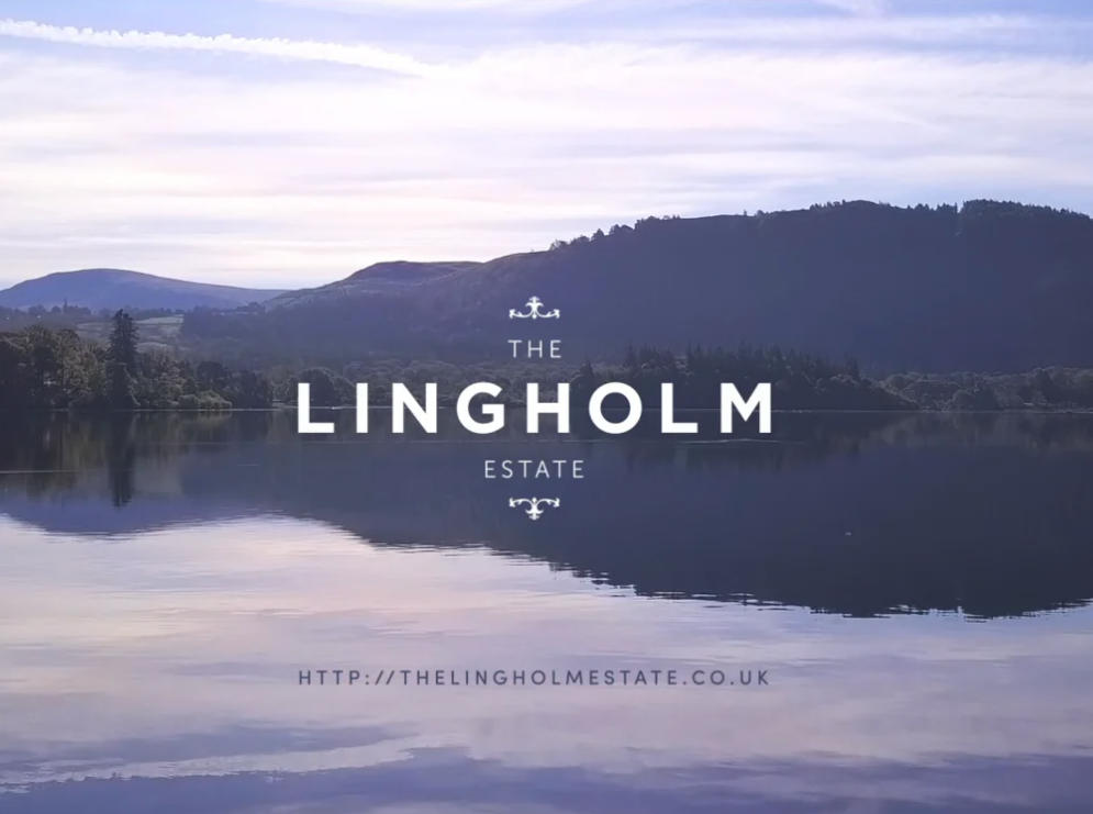 Lingholm estate video editing project screenshot