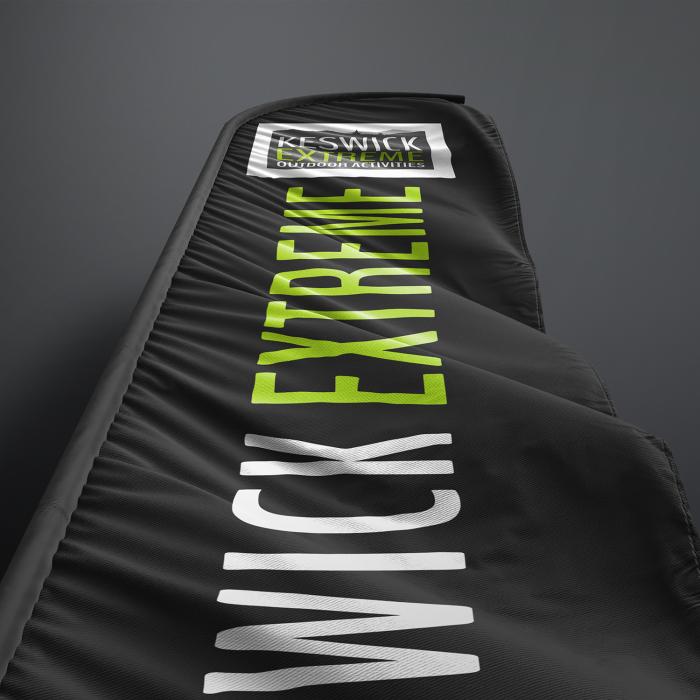 Beah flag branding advertisement design project